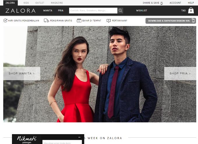 ZALORA Indonesia Toko Sepatu dan Fashion Online ®