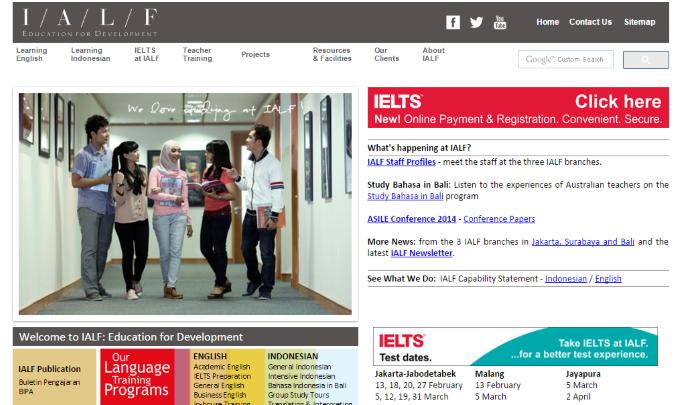 IALF Indonesia Australia Language Foundation Jakarta Surabaya Bali Indonesia