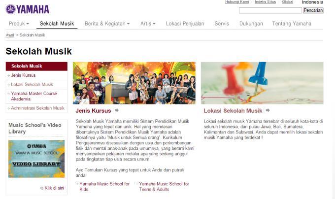 Sekolah Musik Yamaha Musik Indonesia Distributor AlatMusik SekolahMusik