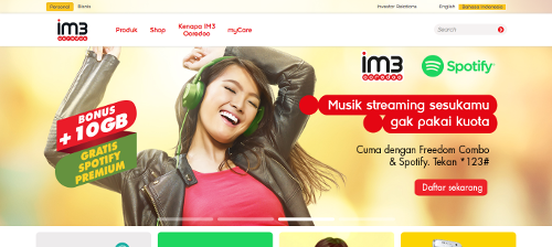 Provider Internet Selular Di Indonesia Indosat Ooredoo
