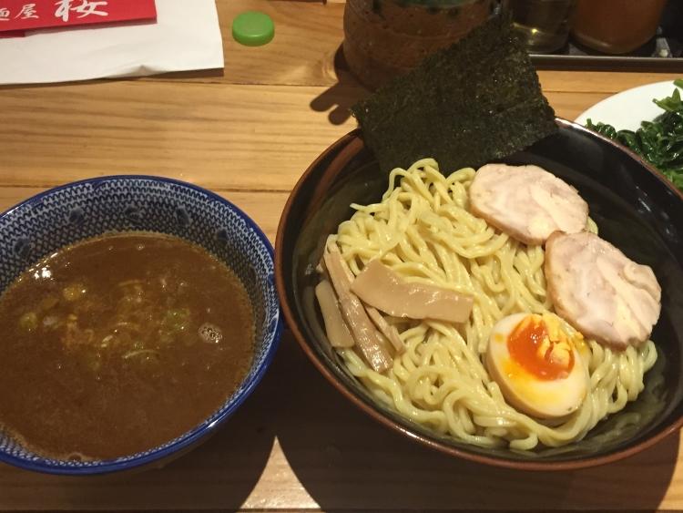 麺屋桜のつけ麺
