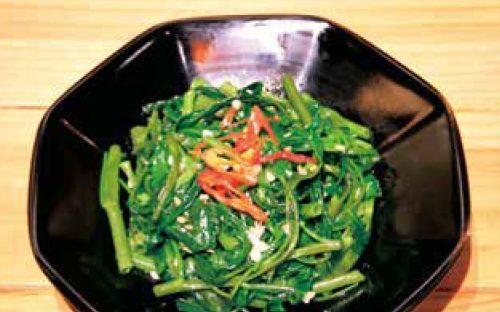 青菜炒め28